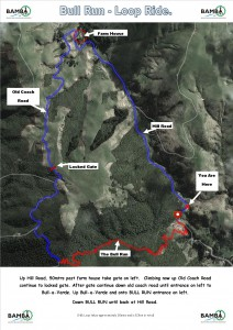 Bull Run Loop_Trail Map